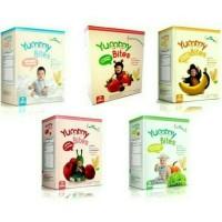Jual Yummy Bites Baby Rice Crackers| Snack Bayi | Makanan Bayi Murah