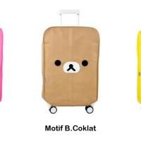 """""""22 New Korean luggage cover Cover pelindung koper tebal motif HPR112"""