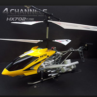 RC Drone pesawat helikopter Helicopter HX702 4ch with gyro murah bagus