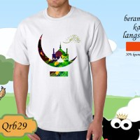 Kaos t-shirt happy idul adha 1438 H logo 29