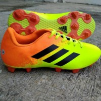 Sepatu Bola Adidas Orange Greenlight