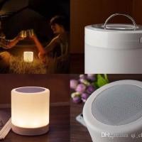 Jual LAMPU SPEAKER BLUETOOTH + RADIO TOUCHSCREEN LAMP EMERGENCY Murah