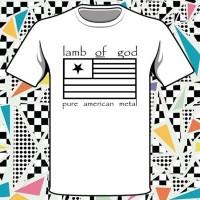 Kaos keren Lamb of God Pure American Metal Band