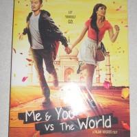 DVD ORIGINAL film Indonesia Me & YOU vs THE WORLD (SEGEL 100%)