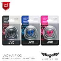 JVC HA-F10C Powerful Sound Earphone with Case Headphone Headset HAF10C