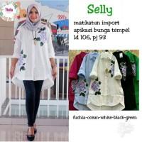 Sely Top / Atasan / Blouse Hijab Muslim Wanita