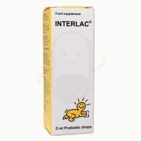 Interlac Oil Drop/vitamin suplemen bayi