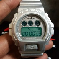 G-SHOCK x BAPE silver