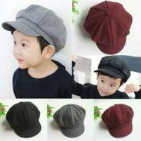 topi pet apollo anak keren warna warni/topi anak bahan adem cute