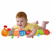 Sozzy Musical Inchworm Soft Toy/ Mainan Anak/ Mainan Lucu