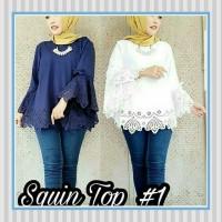 Grosir Baju Atasan Muslim Wanita Hijab Murah Dan Terbaru / Squin Top