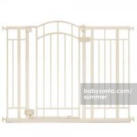 Summer Multi-Use Decorative Extra Tall Walk-Thru Gate - Beige