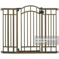 Summer Multi-Use Decorative Extra Tall Walk-Thru Gate - Bronze