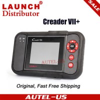 Genuine Launch X431 Creader VII 7 Plus Code Reader OBDII Scanner ABS,
