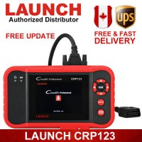 Launch X431 CRP123 OBD2 Diagnostic Tool Engine A/T ABS SRS For Chrysle