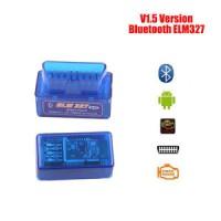 ELM327 v1.5 Bluetooth OBD2 Scanner Adapter OBDII Diagnostic Tool TORQU