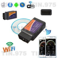 ELM327 WIFI OBD2 OBDII Auto Car Diagnostic Scanner Scan Tool For iPhon