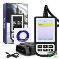 For BMW ABS SRS Airbag OBD2 EOBD Scanner C110 Fault Code Reader Diagn