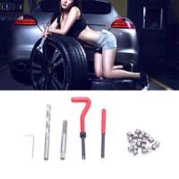 25Pcs Metric Thread Repair M6 x1.0 / M8 x1.25 Helicoil Car Coil Tool I