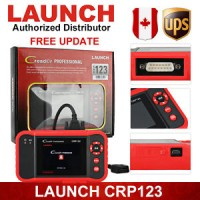 Launch X431 CRP123 OBD2 Diagnostic Scanner Engine A/T ABS SRS Airbag B
