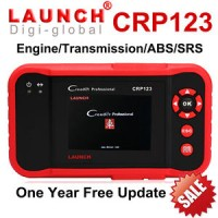 DP 50% untuk Launch X431 CRP123 OBD2 Car Diagnostic Tool Scanner