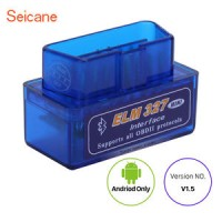 Mini ELM327 V1.5 Bluetooth OBD2 OBDII Car Scanner Android Torque Auto