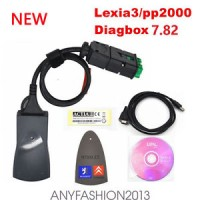 PP2000 lexia-3 With Diagbox V7.82 For Citroen Peugeot Diagnostic Tool