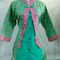 Jual Blus batik model bolero | Baju batik wanita | Blouse batik Murah