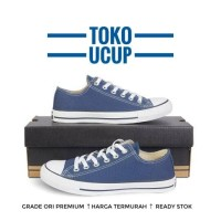 Converse All Star Low Blue Navy + Box