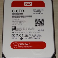 HARDDISK SERVER WDC RED 8 TB SATA 3.5 NAS