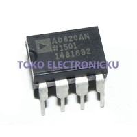 AD620 AD620AN AD620ANZ DIP8 Low power Instrumentation Amplifier