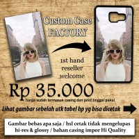 CUSTOM CASE BEBAS SUKA SUKA CETAK FOTO CASING CUSTOM HP