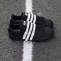 Jual PROMO Adidas Stan Smith Strap X Raf Simons Sneakers Wanita Sepatu Jala Murah