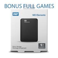 harga Harddisk Hdd External Wd Elements 2,5inch 1tb - Paket Full Games Ps/pc Tokopedia.com