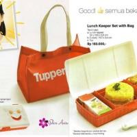 Jual Lunch Keeper Set with bag Tupperware Murah