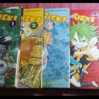 The Law Of Ueki & Ueki Plus - EMK comic (5 buku)