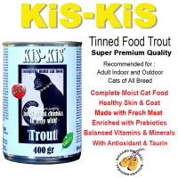 Jual CAT FOOD KIS KIS WET FOOD TROUT 400 GR MAKANAN KUCING PET FOOD Murah