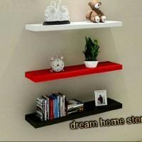 Jual 1set rak floating shelf Murah