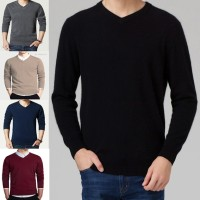 Jual Sweater Rajut Polos/ Sweater V-Neck / Basic / simple Murah