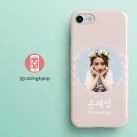 Casing Handphone KPOP TWICE - Chaeyoung Pink Pastel