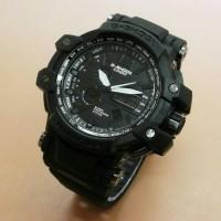 Jam Tangan Pria Casio G-Shock GPW1100 Dualtime Kw Super