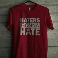 Kaos Haters Gonna Hate Adidas