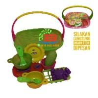 Mainan Keranjang Masakan Edukasi Anak Set Bahan Plastik SNI Promo
