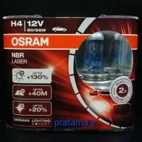 Jual H4 NBR Laser / NBL 12V 60/55W Osram Murah