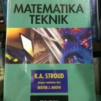 MATEMATIKA TEKNIK EDISI 5 BUKU 1 K.A STROUD