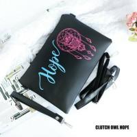 Jual Clutch owl hope / tas sling bag murah Murah