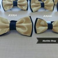 Jual dasi kupu-kupu gold / bow tie Murah