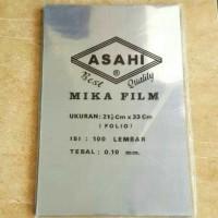 Mika plastik film ASAHI ukuran folio murah