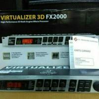 efek vokal behringer 3D FX2000 original