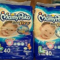 mamypoko extra dry size L 40 / mamy poko (perekat)